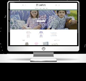 RAN E-Consult webdesign en consultancy Slaapkopje slaapverwekkende webshop voor je kindje