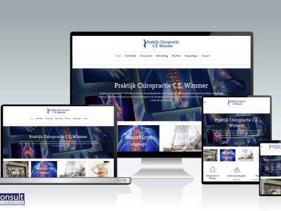 Nieuwe website Chiropractie Wimmer