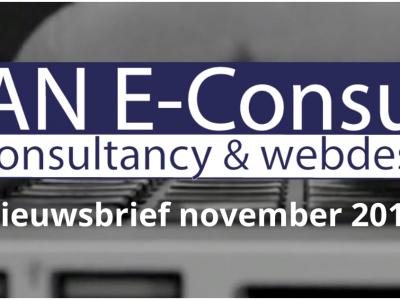 RAN E-Consult nieuwsbrief november 2018