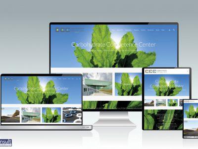 RAN E-Consult realiseert nieuwe website voor Carbohydrate Competence Center
