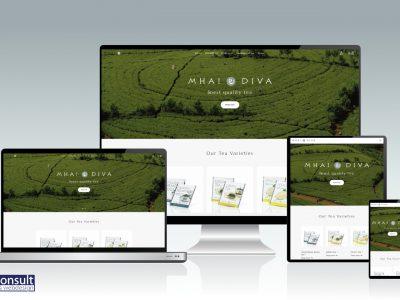Internationale webshop MhaiDiva Tea live