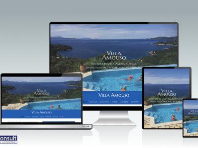 Nieuwe website Villa Amouso Lefkas live