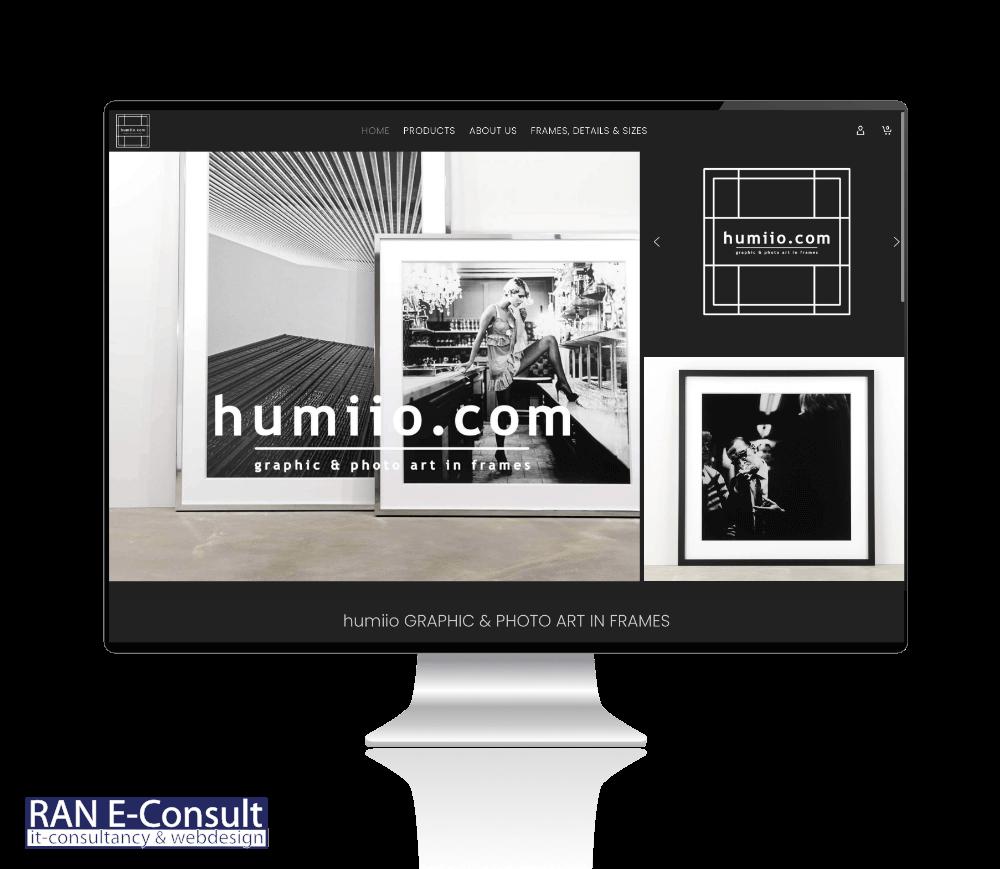 humiio Art in Frames by Jans van der Velde en Hans Dietvorst