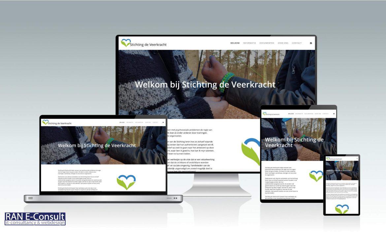 Stichting de Veekracht Assen website door RAN E-Consult