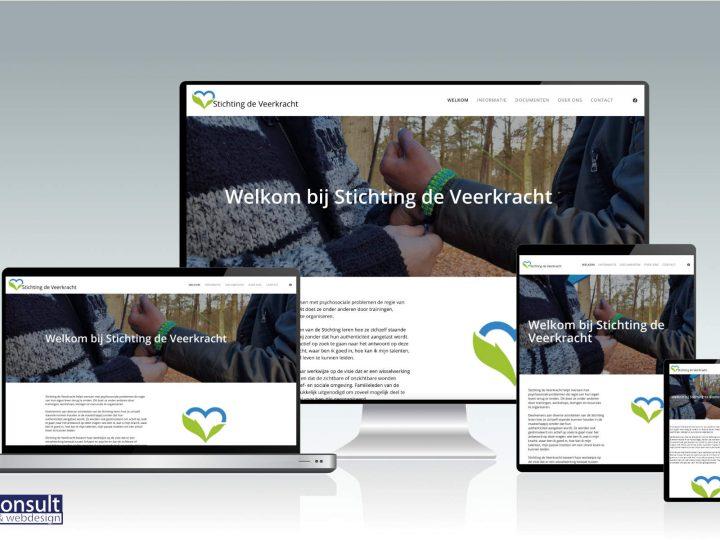 Vernieuwde website Stichting de Veekracht