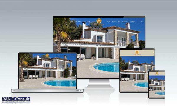 Villa d Arte France webdesign by RAN E-Consult