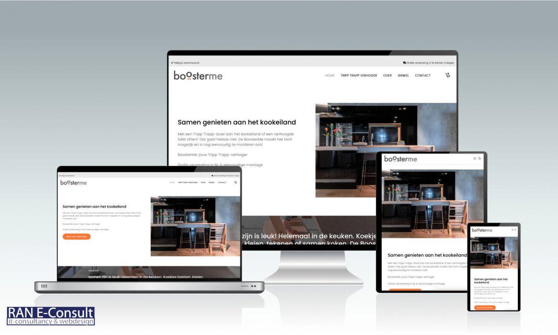 Boosterme website door RAN-E Consult