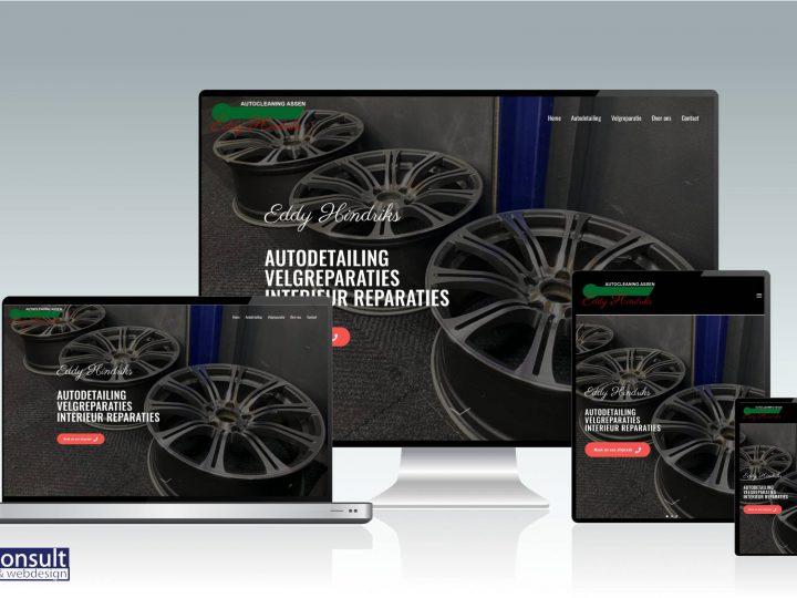 Nieuw: de website van Hindriks Autocleaning Assen