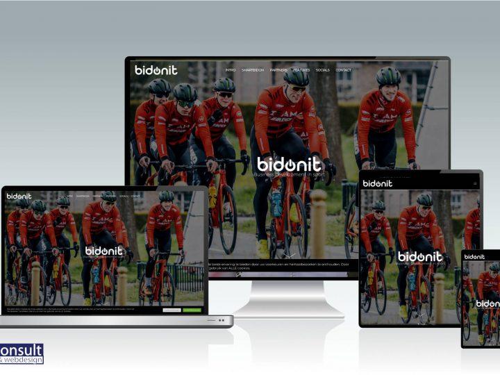 Nu online: Bidonit. Connecting sport, fan & business